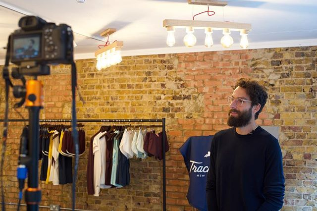 Sneak peek from our shoot with @tracksmithrunning at their first ever London pop-up. More to come soon. 🎥 — Check out their performance apparel and celebration of the London marathon and culture of running in Covent Garden up until 29 April. 🏃♂️ . . . . #bts #shootday #popup #7dials #tracksmith #madeinboston #londonmarathon #sportswear #runners #productionlife #runninggear #premium #performance #spacetocreate #venuesearch #london #popupshop #marathonprep #apparel #friyay