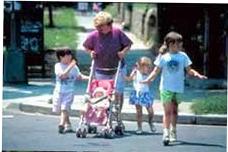 Pedestrian & Bicycle Safety-USDOT-FHWA-photo