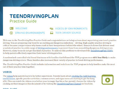 Teen Driving Plan – CHOP*