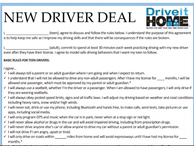 New Driver Deal – NSC*