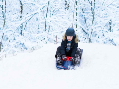 No Helmet, No Slide: Wear a Helmet While Sledding, Because your Brain Matters – GC*