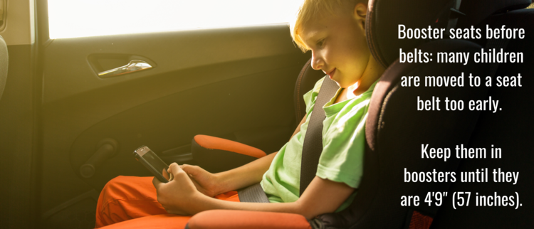 Booster Seats: The Just-Right Fit for Your Older Child