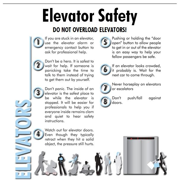 Click the image to download your very own Word document that you can add an emergency phone number. Once customized you can print and post at every elevator entrance. Perfect for move in and move out when elevators are placed under some of the highest demands. Two separate posters show both the Do's and Don'ts of elevator travel.
