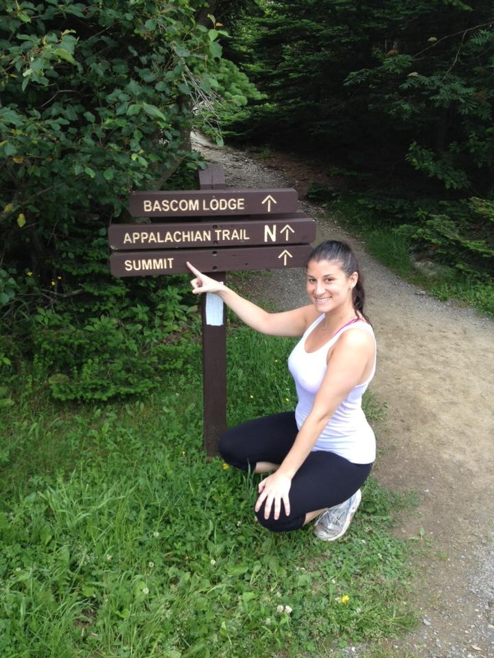 Reaching the peak of Mt. Greylock