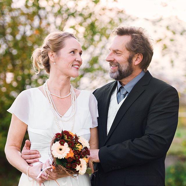 Och här är anledningen till att vi inte spökade ut oss i helgen, Mannikas bröllop! Mannika = Martin+Annika, papi ❤️ Ankan. Tack för en fantastiskt trevlig tillställning!! #minfarsbröllop #congrats #varärduifrån #jofrånhässleholm