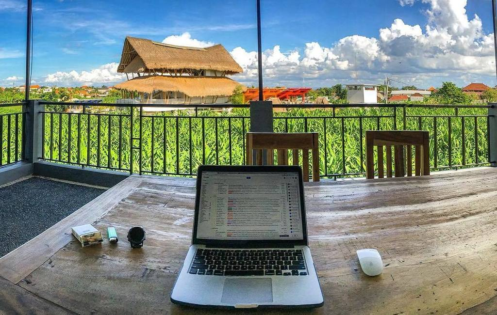 Had to include this one, while not technically an office the digital nomad in me is certainly envious. Look at that view!