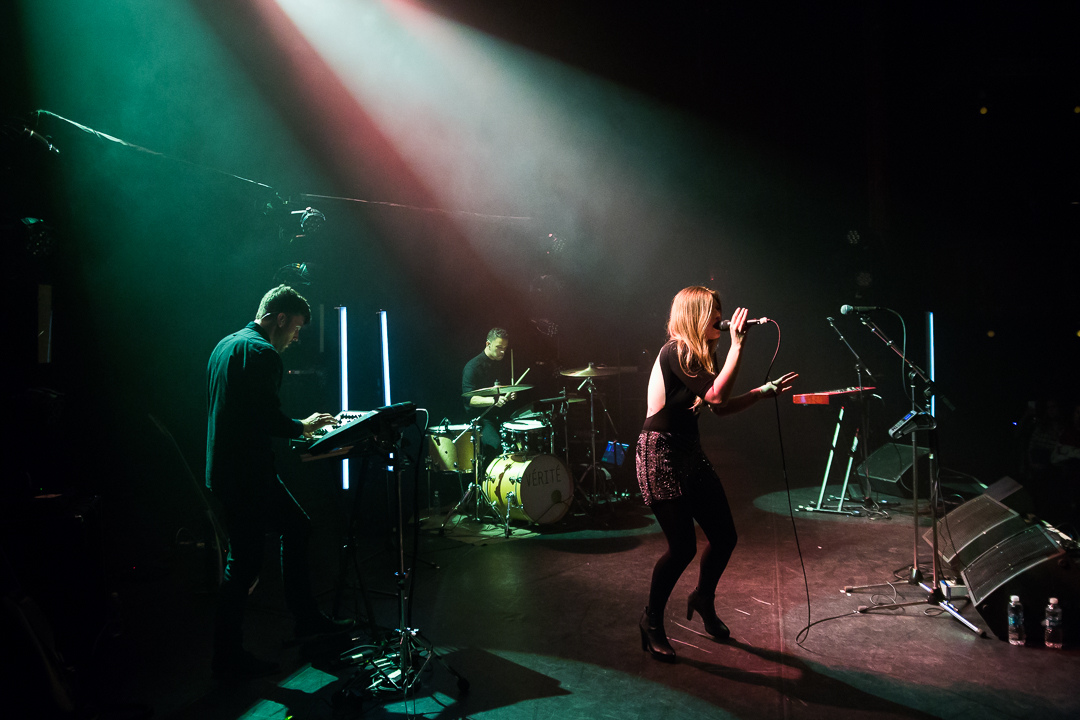 With VÉRITÉ on tour with Marian Hill, fall 2016