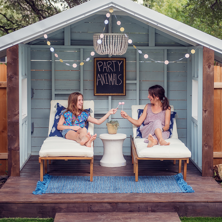 pool house.  Lovely Matters by Heather Walker