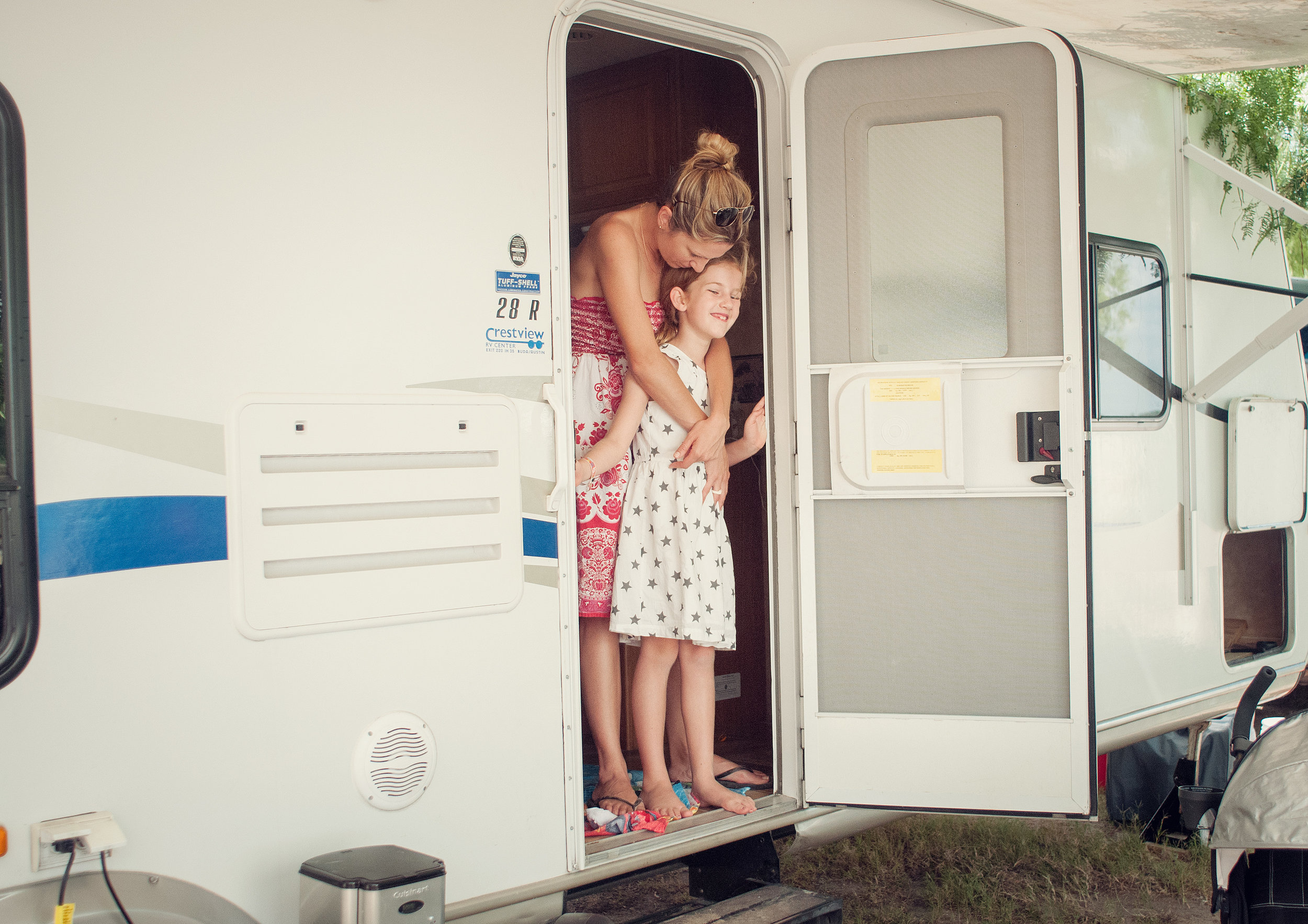 camping is not a vacation.  Lovely Matters blog by Heather Walker