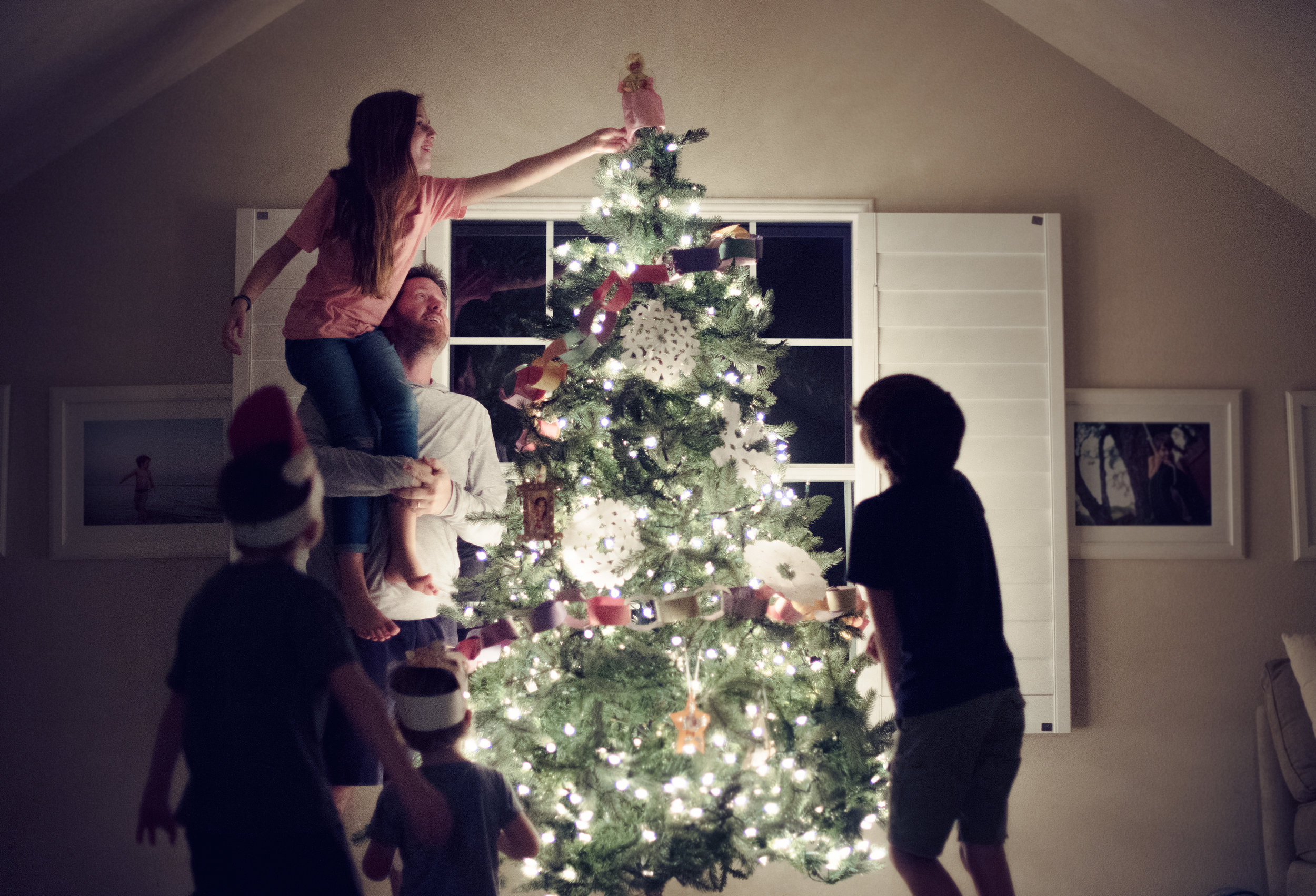 Christmas tree Traditions. Lovely Matters blog by Heather Walker