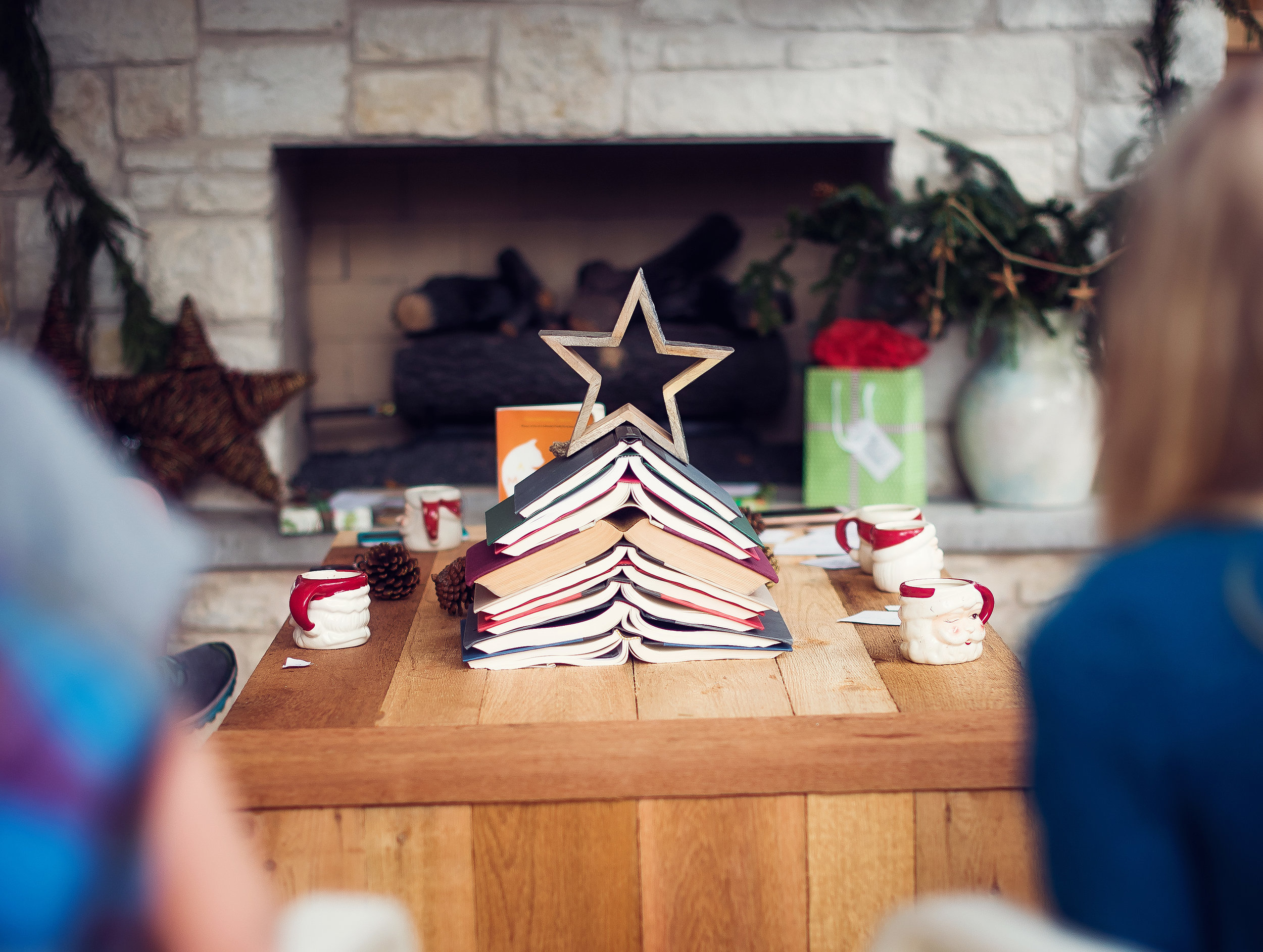 Mother Daughter Book Club Christmas. Lovely Matters Blog by Heather Walker