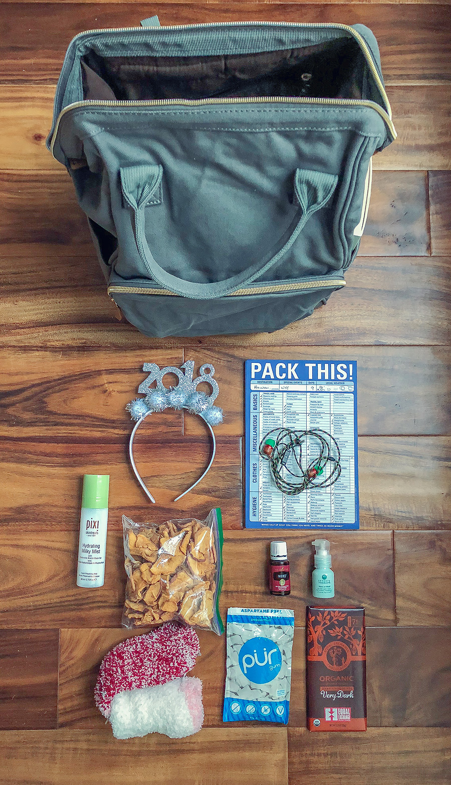 travel essentials.  Lovely Matters blog by Heather Walker