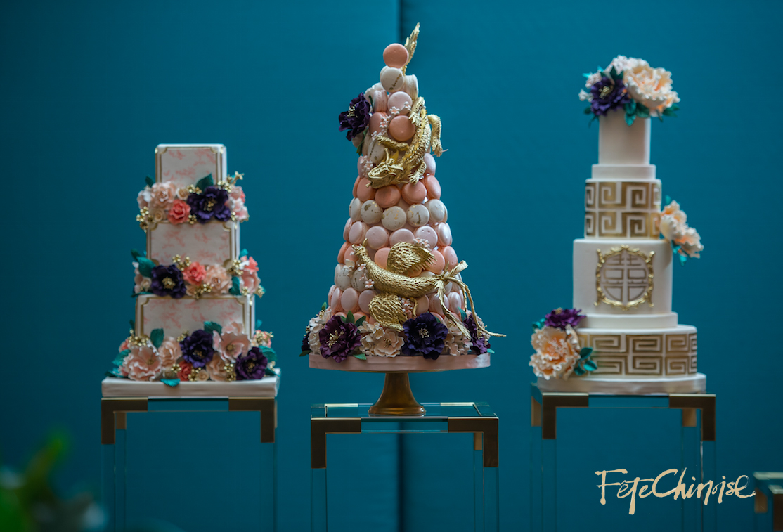The Cake Gallery featuring Bobbette & Belle.  Photo by Krista Fox Photography.