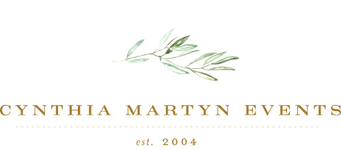 - Cynthia Martyn Events is an award-winning, full-service wedding and event management and production company based in Toronto, Canada. We specialize in crafting beautifully styled and executed fine art weddings in Toronto, Muskoka, Niagara, and Worldwide.14 Essex Avenue, Unit 25Thornhill, Ontario, L3T 3Z1416.651.6600hello@cynthiamartyn.com