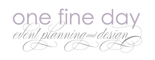 - Celebrate in style! Award winning planning and design firm that creates simply stunning luxury weddings, engagement parties and bridal showers. Local or destination.Melissa Samborski416.522.0503info@eventsbyonefineday.comwww.eventsbyonefineday.com