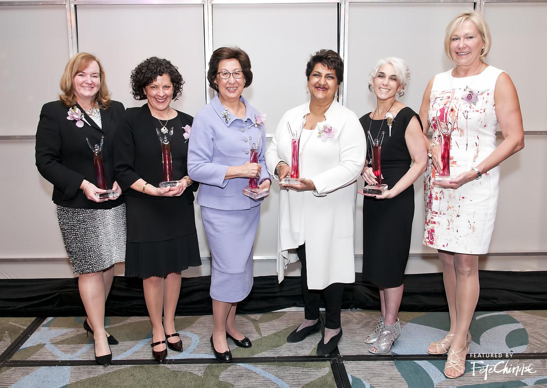 Honourees: Marcia Smith, Karina Briño, Eva Kwok, Karimah Es Sabar, Michelle Pockey, Evi Mustel