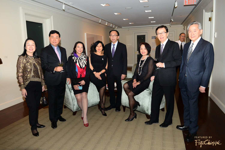Angela Chan, Chris Li, Anna Dai, Vicky Wong, Lenny Wong, Doris Cheung, Dr. Ming-Tat Cheung, and Dr. John Fong