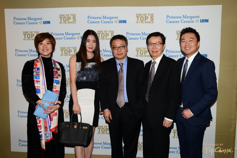 Tina Xu, Vicky Wu, Dr. Eric Chen, Dr. Ming0Tat Cheung, Ray Mao