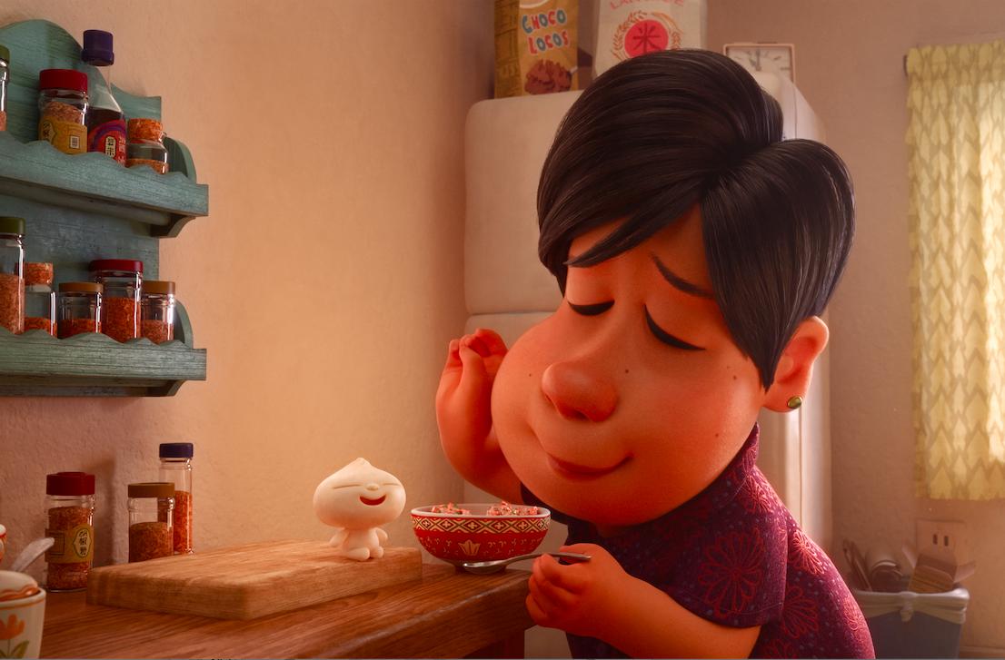 Scene from Pixar's 'Bao.' Photo Courtesy of TIFF (Toronto International Film Festival).