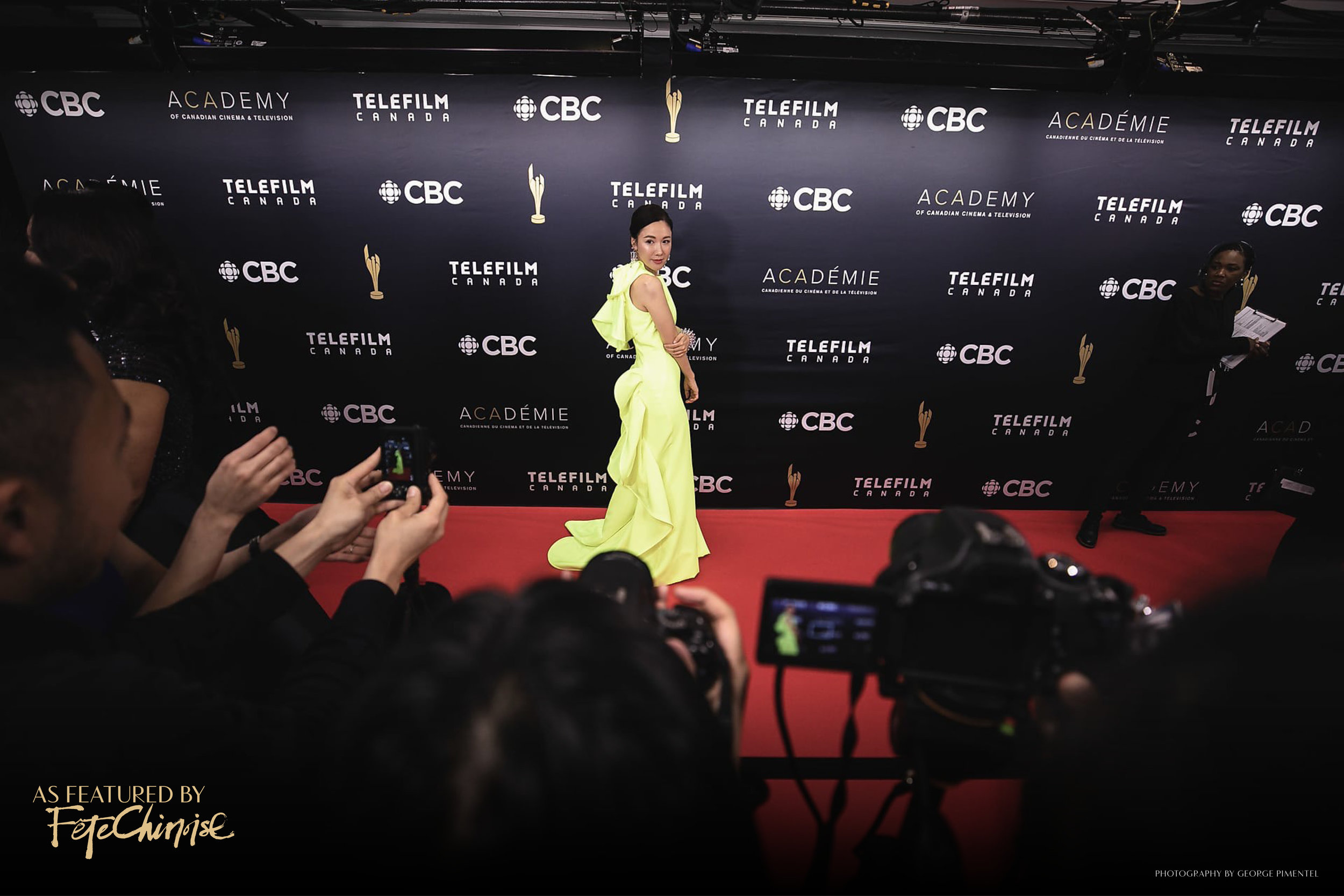 Selena Lee, nominated for Best Supporting Actress at 2019 Canadian Screen Awards