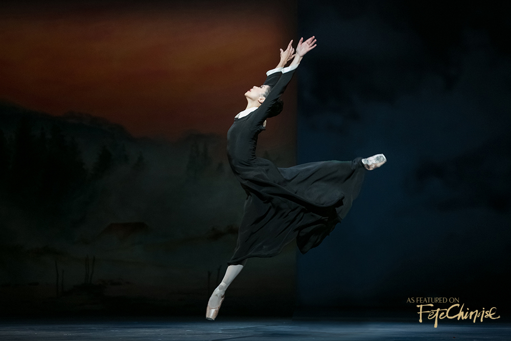 Xiao Nan Yu in  The Winter's Tale . Photo by Karolina Kuras.