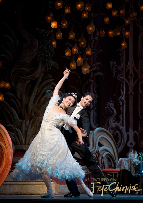 Xiao Nan Yu and Guillaume Côté in  The Merry Widow.  Photo by Cylla von Tiedemann.