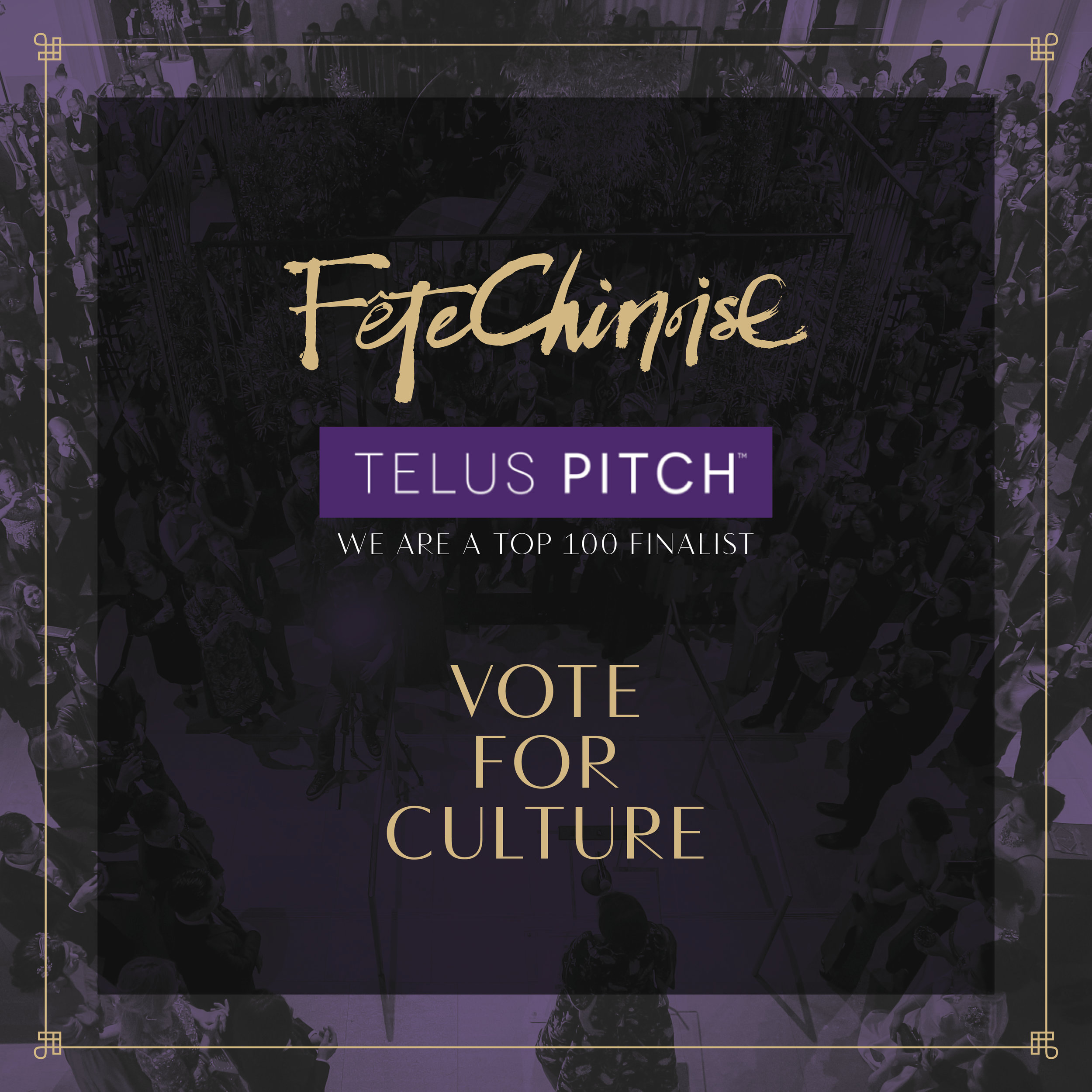 Vote Today!* - Fête Chinoise is so proud to be celebrating our 5th year this year. Through our magazine and events with wonderful collaborators, we have touched many hearts and aspire to reach more! In the past, we have donated proceeds from the Fête Chinoise Signature Event to charities: Markham Stouffville Hospital, Orbis, Mon Sheong Foundation and fu-GEN Theatre company. We will continue to raise the bar, and help to inspire our cultural market. Thank you for being a part of it all!