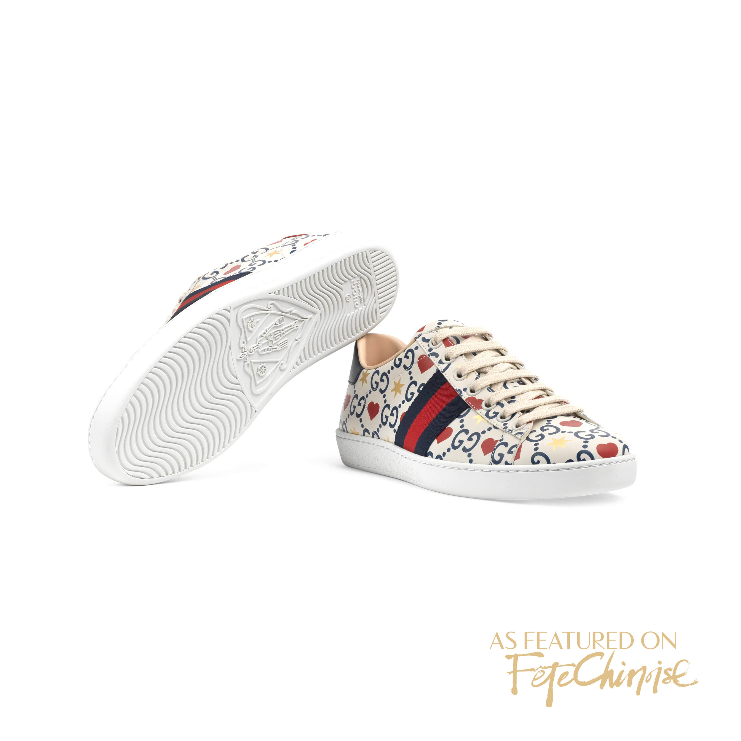 Photo credit: Gucci - Chinese Valentine's Day Exclusive Ace Sneaker.