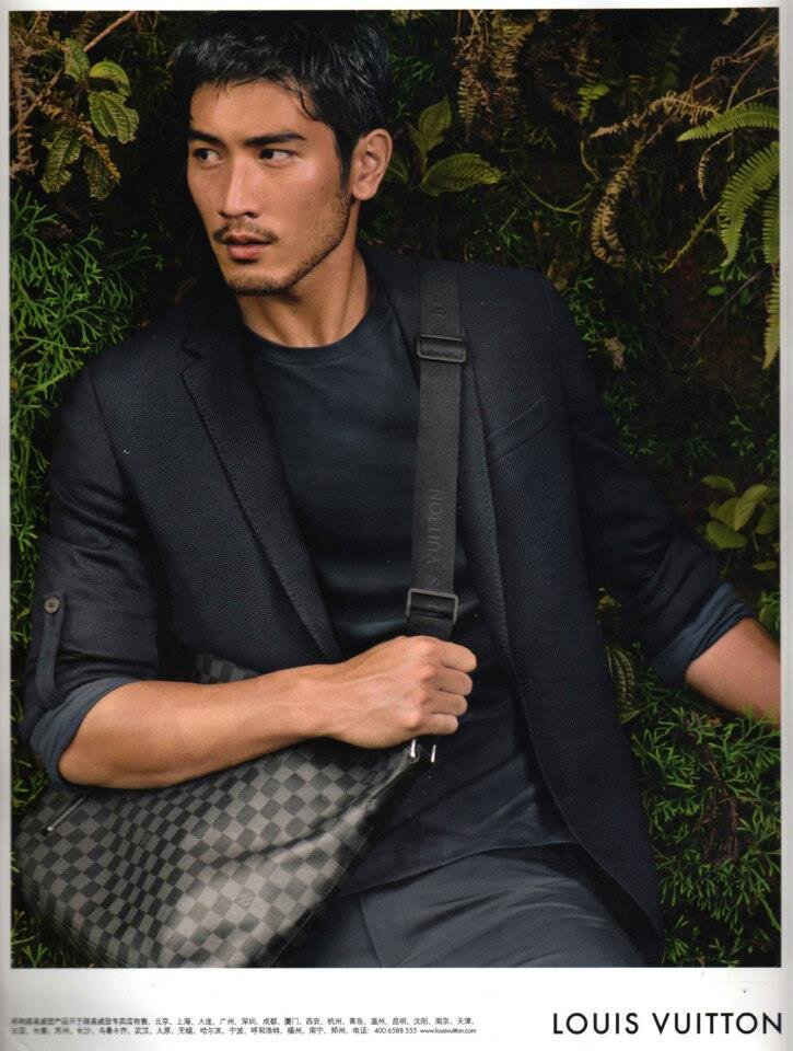 Godfrey Gao for Louis Vuitton. Source: Godfrey Gao / Facebook
