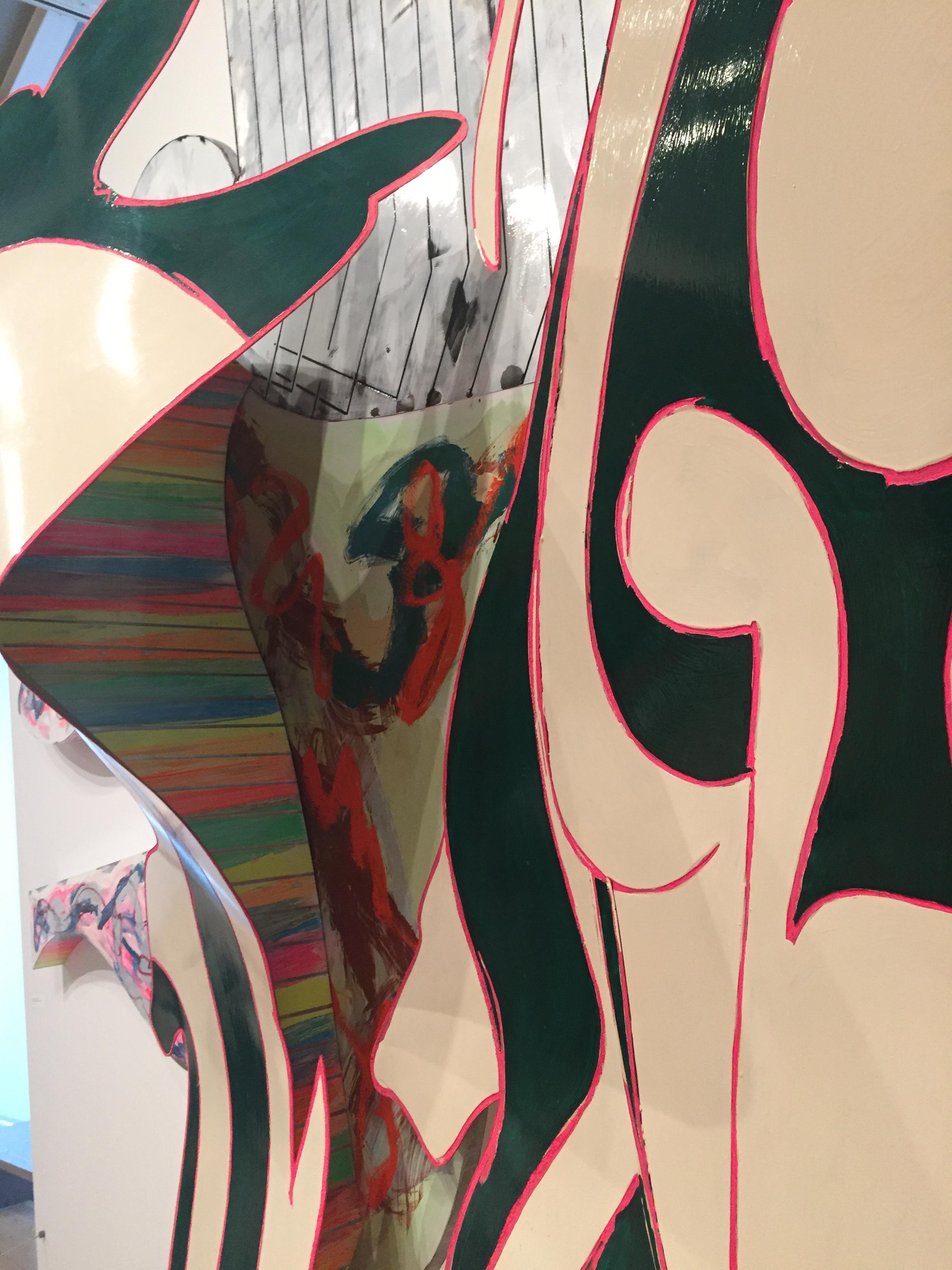 Detail of Frank Stella