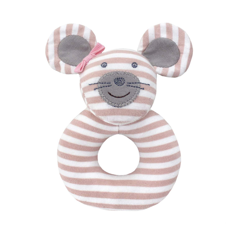 Ballerina Mouse Teething Rattle