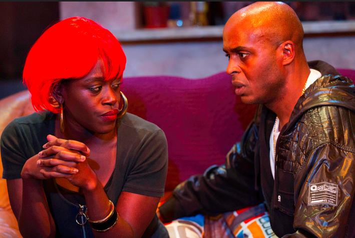 Chu Omambala and Michelle Asante