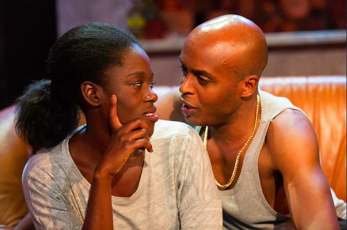 Michelle Asante and Chu Omambala
