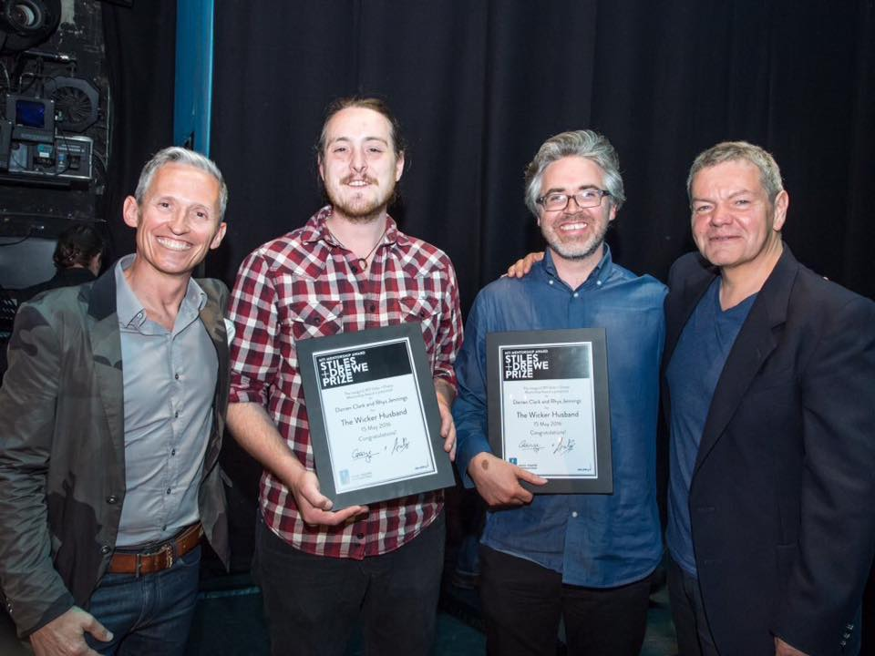 George Stiles, Rhys Jennings, Darren Clarke and Anthony Drewe