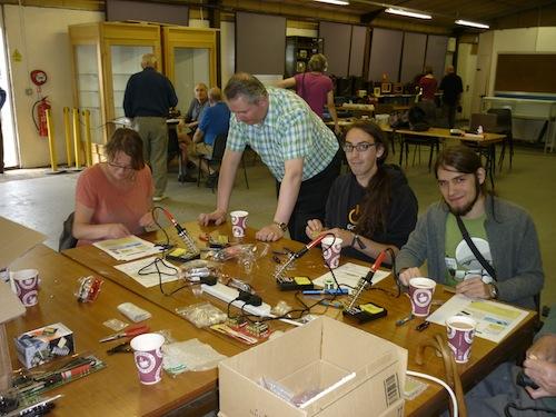 Constructors at work self-assembling medium-wave radios ...