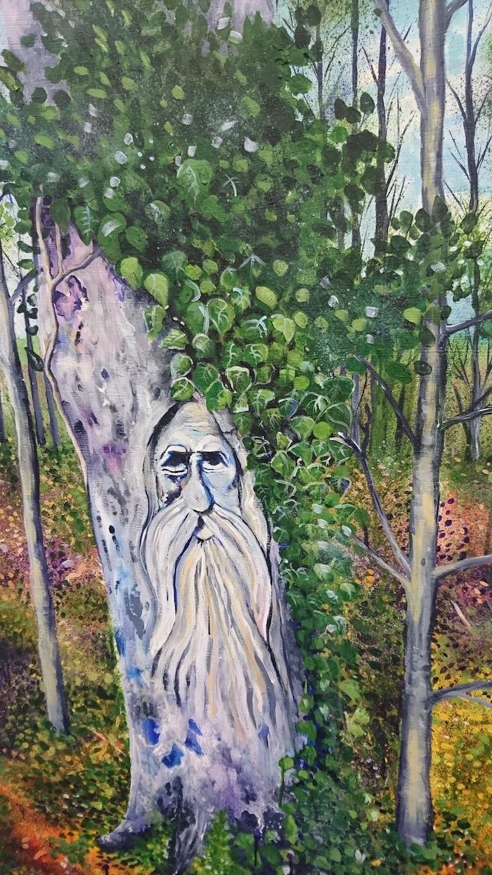 Green Man by Marianne Lister O'Shea