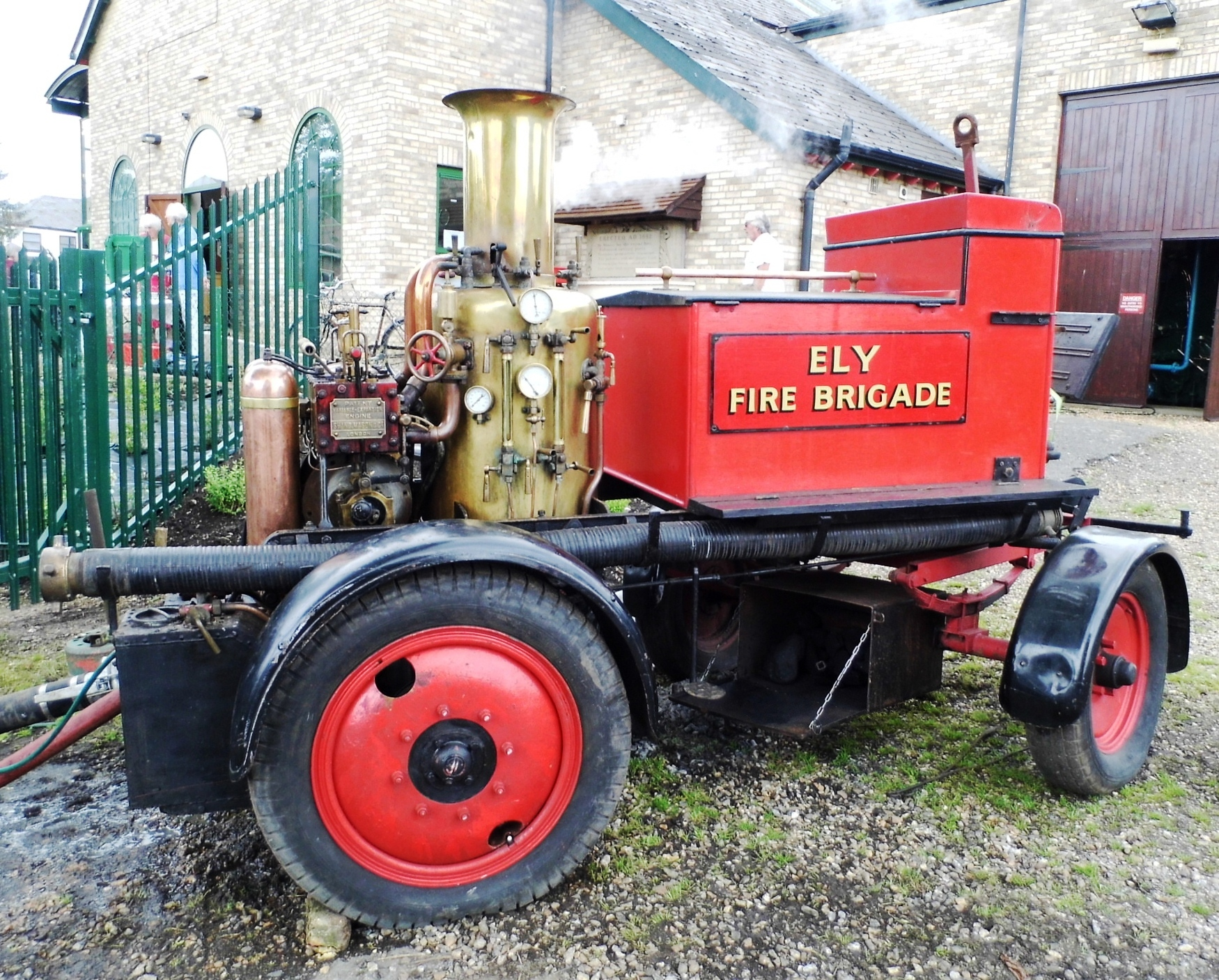 Steam Powered Fire Pump....Prickwillow Drainage Museum by Tony Parsfield