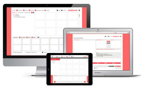 Slidebank web app
