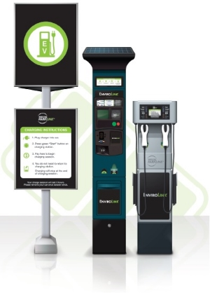 Precise ParkLink Inc.'s Electrical Vehicle Charging Stations
