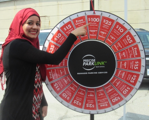 Precise ParkLink Spins for Seneca College