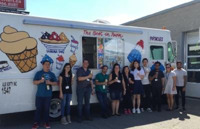 Precise ParkLink Copes in the Heat with Ice Cream!