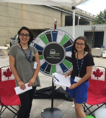 A special thank you to our volunteers at Precise ParkLink's Staff Appreciation BBQ!