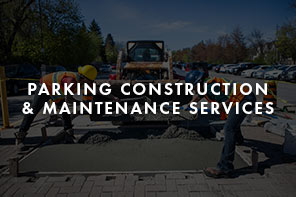 Parking Construction & Maintenance Services