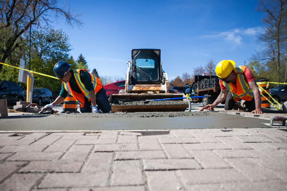 Safe & Easy Access To Your Parking - Our paving and asphalt services include: asphalt paving, pavement repairs (parking lots, curb construction), parking lot sealing, painting for parking spaces and curbs.