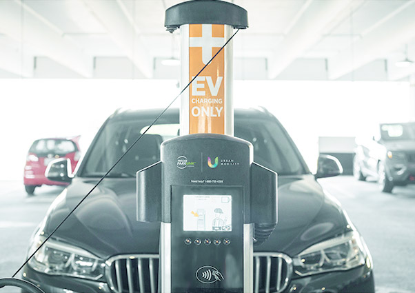 Smart EV Chargers - Smart chargers offer owners detailed analytics based on user behaviour trends, enables pricing per user type, and allows you to control usage of the unit by sending users text message alerts when their vehicle is fully charged and ready to be moved for the next in line.