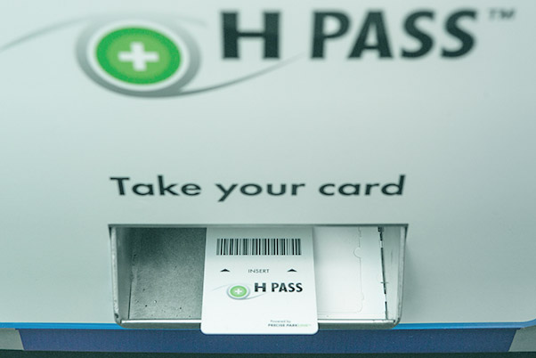 Sell After Hours - Sell H PASS™ cards after hours and overnight with an H PASS™ vending machine. Precise ParkLink supplies vending machines exclusive to H PASS™ allowing you to collect parking revenue at all times while providing all guests, patients and visitors top notch customer service.