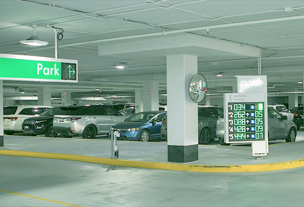 Digital & Illuminated - We offer electronic, digital and illuminated signs. Our most popular types of digital signs are: parking space counters indicating the number of available parking spaces, way finding signs and reader boards.