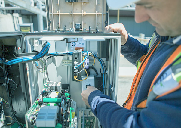 Electrical Construction - Our electrical division performs parking equipment installations, repairs, and are directly involved in product and installation approvals. They also install electrical infrastructure such as lighting and electric vehicle charging stations.