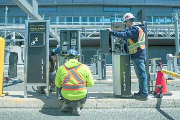 On-Going Maintenance & Tech Support - Our ability to maintain, service and support our transit and parking equipment is unparalleled within the Canadian parking market. We are the exclusive distributors for Flowbird Urban Intelligence and SkiData equipment.