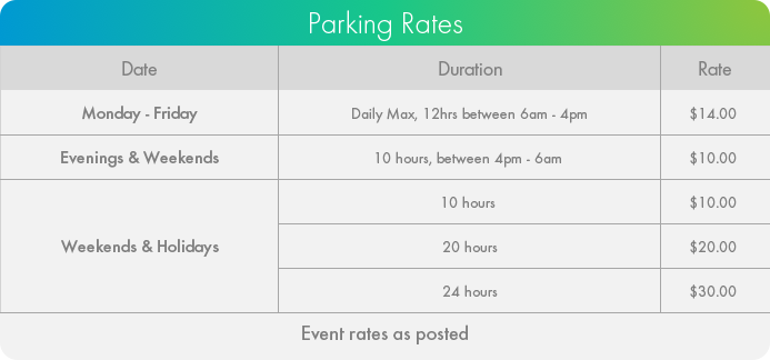 277 Wellington Street Toronto Parking Rates